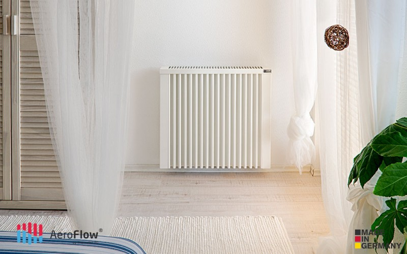 Heating panel AeroFlow COMPACT 1300W will fit into any interior