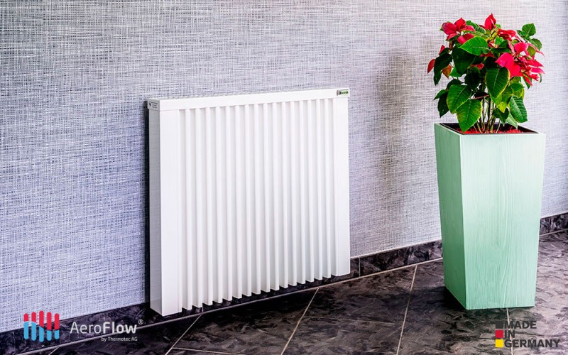 AeroFlow heating panel COMPACT 1300W is elegant and quiet
