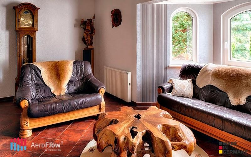 Calefaccion economica en la casa con el panel calefactor AeroFlow Midi 1950 W