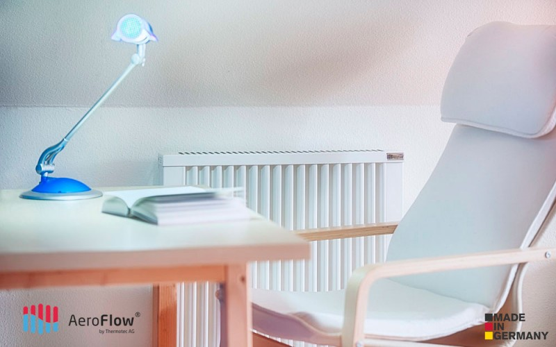 Ukázka instalace akumulačního topného panelu AeroFlow COMPACT 1300 W