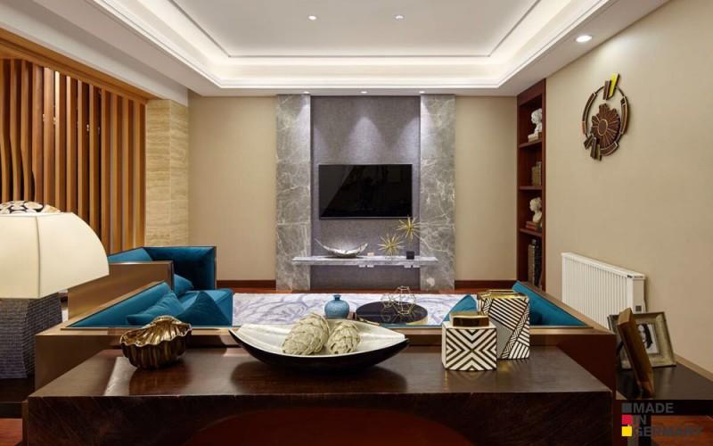 Elektrický topný panel AeroFlow MAXI 2450 W zapadne díky elegantnímu designu do jakéhokoli interiéru